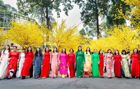Phát động cuộc thi ảnh đẹp với tà áo dài truyền thống