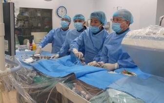 Cứu bệnh nhân nhồi máu cơ tim cấp có phủ tạng đảo ngược hoàn toàn hiếm gặp
