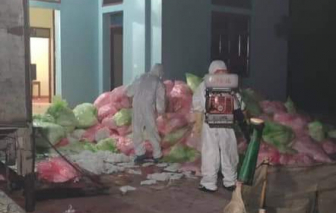 Phát hiện đối tượng thu gom hơn 600kg khẩu trang cũ từ Vĩnh Phúc