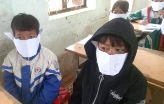 Xem xét thu hồi thông báo kỷ luật cô giáo đăng ảnh học sinh đeo khẩu trang giấy