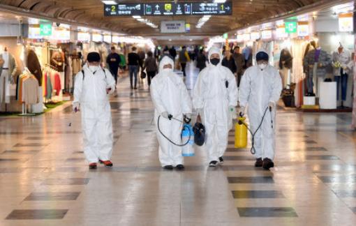 Thêm 1 người tử vong và 123 trường hợp nhiễm mới COVID-19 tại Hàn Quốc