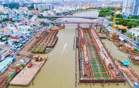 Gấp rút thi công dự án chống ngập tại TPHCM