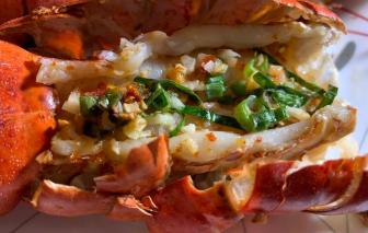 Lạ miệng món tôm hùm nướng sốt vị Thái