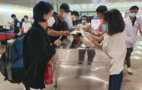TPHCM đưa 3 hành khách từ Daegu vào khu cách ly tập trung
