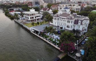 Đề xuất tháo dỡ nhiều nhà hàng, quán bar lấn chiếm sông Sài Gòn