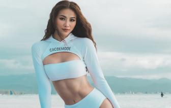 Hoa hậu Phương Khánh tiết lộ bí quyết để có múi bụng săn chắc