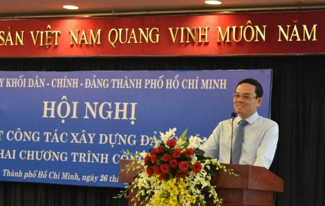 Phó bí thư thường trực TPHCM: Thành tích của thành phố có sự đóng góp rất đáng kể của các đảng viên