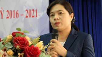 Bà Nguyễn Trần Phượng Trân được bầu giữ chức danh Chủ tịch Hội LHPN TPHCM với số phiếu tuyệt đối