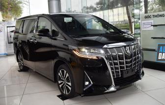 Toyota Alphard bị triệu hồi ở Việt Nam vì lỗi dây đai an toàn
