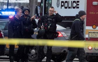 Xả súng tại nhà máy bia Mỹ, 5 người chết