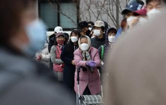 Hàn Quốc: Số ca nhiễm COVID-19 tăng lên theo từng ngày